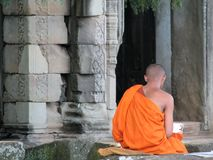 καμποτζιανός ναός στοκ φωτογραφίες