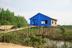 καμποτζιανό σφρίγος σπιτ&iot Στοκ φωτογραφία με δικαίωμα ελεύθερης χρήσης