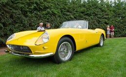 1959 καμπριολέ Ferrari 250GT Στοκ Φωτογραφίες