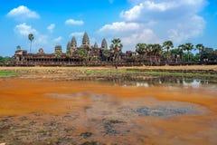 Καμπότζη και το Angkor Wat Στοκ Φωτογραφία