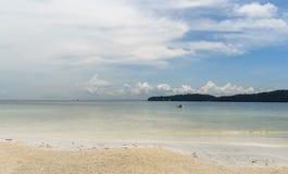 Καμπότζη μια άποψη από τη λιμνοθάλασσα στοκ εικόνες