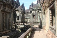 Καμπότζη Ναός Samre Banteay Το Siem συγκεντρώνει την επαρχία Το Siem συγκεντρώνει την πόλη Στοκ Εικόνες