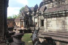 Καμπότζη Ναός Samre Banteay Το Siem συγκεντρώνει την πόλη Το Siem συγκεντρώνει την επαρχία Στοκ Εικόνες