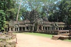 Καμπότζη Ναός TA Prohm Το Siem συγκεντρώνει την επαρχία Το Siem συγκεντρώνει την πόλη Στοκ φωτογραφίες με δικαίωμα ελεύθερης χρήσης