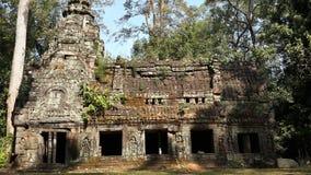 Καμπότζη Ναός TA Prohm Το Siem συγκεντρώνει την επαρχία Το Siem συγκεντρώνει την πόλη Στοκ Φωτογραφίες