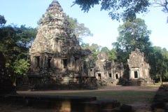Καμπότζη Ναός Thommanon Το Siem συγκεντρώνει την επαρχία Το Siem συγκεντρώνει την πόλη Στοκ Εικόνα