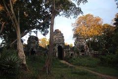 Καμπότζη Ναός & x28 Khan Kampong Svay Preah  Prasat Bakan & x29  Επαρχία Vihear Preah Το Siem συγκεντρώνει την πόλη Στοκ εικόνα με δικαίωμα ελεύθερης χρήσης