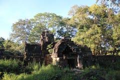 Καμπότζη Ναός & x28 Khan Kampong Svay Preah  Prasat Bakan & x29  Επαρχία Vihear Preah Το Siem συγκεντρώνει την πόλη Στοκ φωτογραφία με δικαίωμα ελεύθερης χρήσης