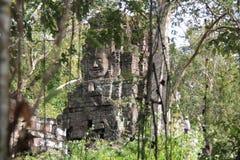 Καμπότζη Ναός & x28 Khan Kampong Svay Preah  Prasat Bakan & x29  Επαρχία Vihear Preah Το Siem συγκεντρώνει την πόλη Στοκ Εικόνα