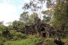 Καμπότζη Ναός & x28 Khan Kampong Svay Preah  Prasat Bakan & x29  Επαρχία Vihear Preah Το Siem συγκεντρώνει την πόλη Στοκ εικόνες με δικαίωμα ελεύθερης χρήσης