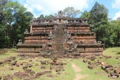 Καμπότζη Πόλη Thom Angkor Ναός Phimeanakas Το Siem συγκεντρώνει την επαρχία Το Siem συγκεντρώνει την πόλη Στοκ Εικόνα
