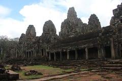 Καμπότζη Πόλη Thom Angkor bayon ναός της Καμπότζης riep πλησίον siem Το Siem συγκεντρώνει την επαρχία Το Siem συγκεντρώνει την πό Στοκ φωτογραφία με δικαίωμα ελεύθερης χρήσης