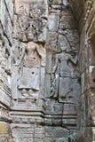 Καμπότζη, Angkor Thom - ναός Bayon Στοκ φωτογραφία με δικαίωμα ελεύθερης χρήσης