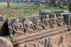 Καμπότζη, Angkor Thom - ναός Bayon Στοκ εικόνα με δικαίωμα ελεύθερης χρήσης