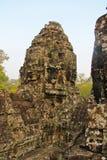 Καμπότζη, Angkor Thom - ναός Bayon Στοκ Φωτογραφίες
