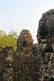 Καμπότζη, Angkor Thom - ναός Bayon Στοκ Φωτογραφία