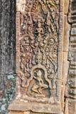 Καμπότζη, Angkor Thom - ναός Bayon Στοκ εικόνες με δικαίωμα ελεύθερης χρήσης
