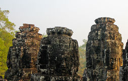 Καμπότζη, Angkor Thom - ναός Bayon Στοκ Εικόνα