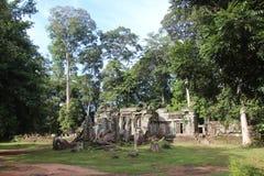 Καμπότζη Koh ναός & x28 Ker  Prasat Thom & x29  Επαρχία Vihear Preah Το Siem συγκεντρώνει την πόλη Στοκ εικόνα με δικαίωμα ελεύθερης χρήσης