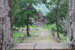 Καμπότζη preah ναός vihear Επαρχία Vihear Preah Στοκ φωτογραφία με δικαίωμα ελεύθερης χρήσης