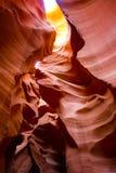 Καμπύλες και χρώματα στην αντιλόπη στοκ φωτογραφία με δικαίωμα ελεύθερης χρήσης