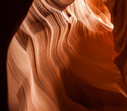 Καμπύλες του ψαμμίτη Στοκ Εικόνα