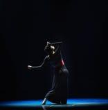 Καμπύλη-σύγχρονος χορός Στοκ Εικόνα
