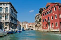 κανάλια Βενετία Στοκ εικόνες με δικαίωμα ελεύθερης χρήσης