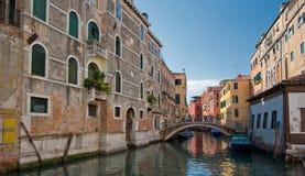 κανάλια Ιταλία Βενετία Στοκ φωτογραφία με δικαίωμα ελεύθερης χρήσης