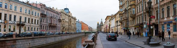 Κανάλια της Αγία Πετρούπολης Στοκ φωτογραφίες με δικαίωμα ελεύθερης χρήσης