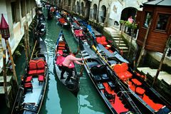 κανάλι Βενετία Στοκ Εικόνα