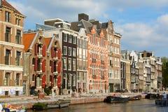 κανάλι Κάτω Χώρες του Άμστ&epsi στοκ φωτογραφία