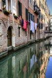Κανάλι και παλαιά κτήρια, Βενετία, Ιταλία Στοκ φωτογραφίες με δικαίωμα ελεύθερης χρήσης