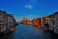 κανάλι μεγάλη Βενετία παλαιό arhitecture πόλεων Στοκ Εικόνα