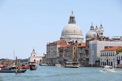 κανάλι μεγάλη Βενετία Στοκ Εικόνες