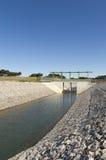 Κανάλι παρεκτροπής ύδατος Στοκ Φωτογραφία