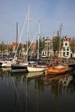 Κανάλι σε Harlingen Στοκ φωτογραφία με δικαίωμα ελεύθερης χρήσης