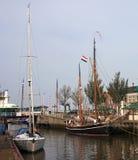 Κανάλι σε Harlingen Στοκ εικόνες με δικαίωμα ελεύθερης χρήσης