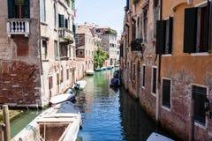 Κανάλι στη Βενετία Στοκ Φωτογραφίες