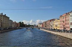 Κανάλι της Αγίας Πετρούπολης στοκ εικόνες