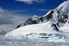 κανάλι της Ανταρκτικής lemaire Στοκ Εικόνες
