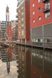 Κανάλι του Μπέρμιγχαμ Στοκ Φωτογραφία