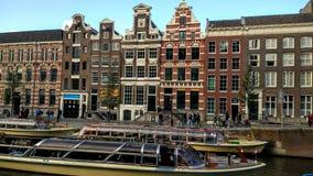Κανάλι Architektur του Άμστερνταμ Στοκ Φωτογραφίες