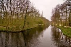 κανάλι clingendael Στοκ φωτογραφίες με δικαίωμα ελεύθερης χρήσης