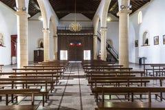 Κανάρια νησιά Λα Oliva Fuerteventura Las Palmas εκκλησιών Στοκ Φωτογραφίες