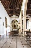 Κανάρια νησιά Λα Oliva Fuerteventura Las Palmas εκκλησιών Στοκ Φωτογραφία