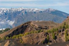 Κανάρια νησιά Λα Palma διαδρομών ηφαιστείων, Ισπανία στοκ εικόνες