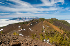 Κανάρια νησιά Λα Palma διαδρομών ηφαιστείων, Ισπανία στοκ εικόνα