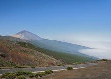 Κανάρια νησιά, Tenerife, ηφαίστειο Teide Στοκ φωτογραφία με δικαίωμα ελεύθερης χρήσης
