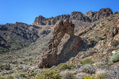 Κανάρια νησιά, Tenerife, ηφαίστειο Teide Στοκ εικόνες με δικαίωμα ελεύθερης χρήσης